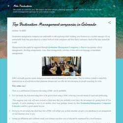 Top Destination Management companies in Colorado