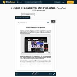 Unique Volusion Website Template Development by OCDesignsOnline