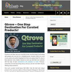 Qtrove – One Stop Destination For Curated Products!