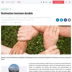 Destination tourisme durable