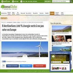 8 destinations 100% énergie verte à ne pas rater en Europe