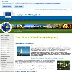 Los Lagos de l'Eau d'Heure (Bélgica) - Destinos de Excelencia