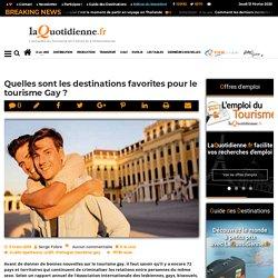 Quelles sont les destinations favorites pour le tourisme Gay ?