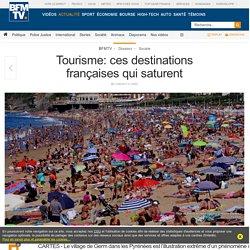 Tourisme: ces destinations françaises qui saturent