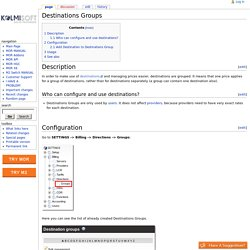 Destinations Groups - Kolmisoft Wiki