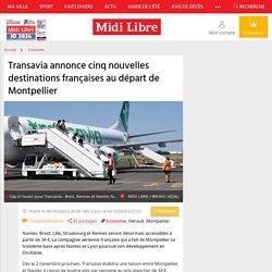 Transavia annonce cinq nouvelles destinations françaises au départ de Montpellier