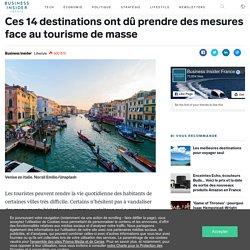 Ces 14 destinations ont dû prendre des mesures face au tourisme de masse