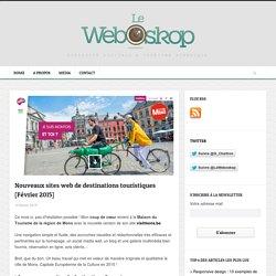 Nouveaux sites web de destinations touristiques [Février 2015]
