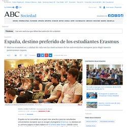 España, destino preferido de los estudiantes Erasmus