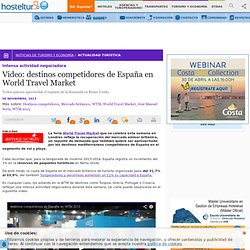 Video: destinos competidores de España en World Travel Market