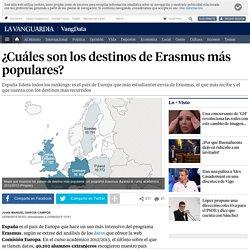 ¿Cuáles son los destinos de Erasmus más populares?