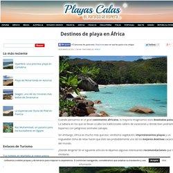 Destinos de playa en África