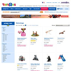 "Déstockage - Toys ""R"" Us"