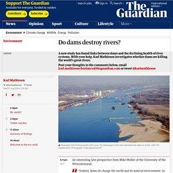 Do dams destroy rivers?