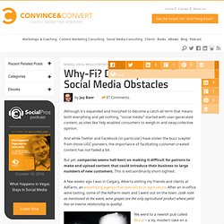 Destroy Real-Time Social Media Obstacles | mobile