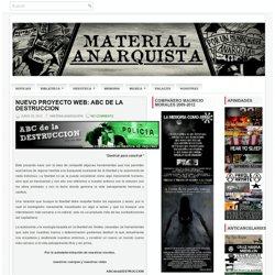 NUEVO PROYECTO WEB: ABC DE LA DESTRUCCION