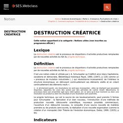 Destruction créatrice