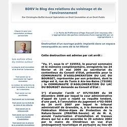 Destruction d'un ouvrage public implanté dans un espace remarquable au sens de la loi littoral : BDRV le Blog des relations du voisinage et de l'environnement