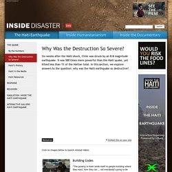 Inside disaster haiti