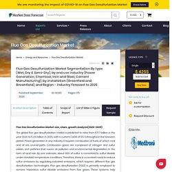Flue Gas Desulfurization Market