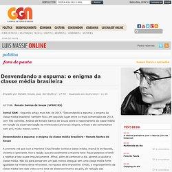 Desvendando a espuma: o enigma da classe média brasileira
