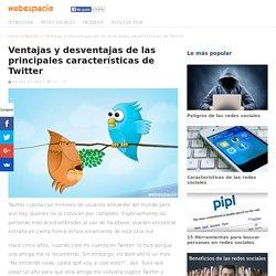 Ventajas y desventajas de las principales características de Twitter