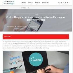 Crello, Desygner et 4 autres alternatives à Canva pour créer vos visuels