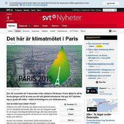 Det här är klimatmötet i Paris