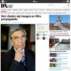 Det vänder sig i magen av SD:s propaganda