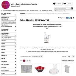 Pièces détachées et accessoires pour robots Store'Inn Seb DO203141/700 - miss-pieces.com