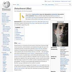 Detachment (film)