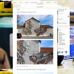 work detail / ALEXANDRE FARTO AKA VHILS