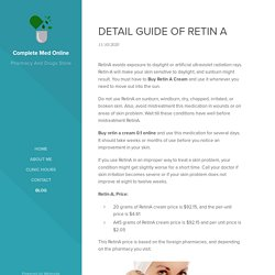 DETAIL GUIDE OF RETIN A