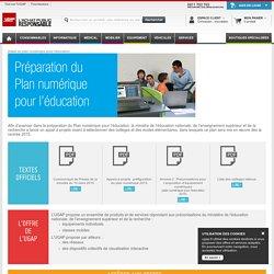 Détail du plan numérique pour l'éducation