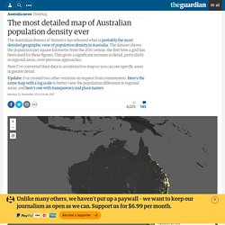 *****The most detailed map of Australian population density ever