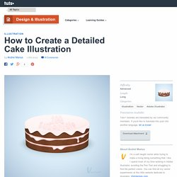 How to Create a Detailed Cake Illustration