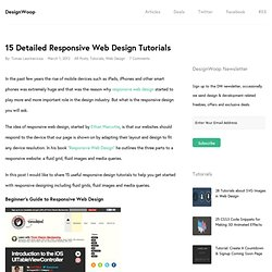 15 Detailed Responsive Web Design Tutorials