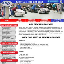 Auto Detailing Ultra Plus Business Start Up Package