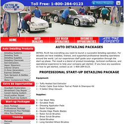 Auto Detailing Professional Business Start Up Package