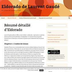 Résumé détaillé d'Eldorado - Eldorado de Laurent Gaudé