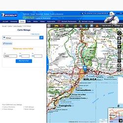Carte détaillée Málaga - plan Málaga