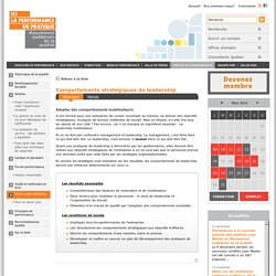 Organisation & leadership