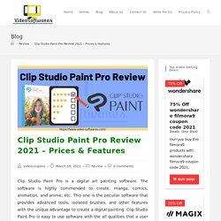 Clip Studio Paint Pro Review 2021- Details, Price, Features, Animation