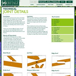 Joint Details - English Heritage Buildings