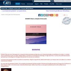 Eckhart Tolle - L'intégrale 14 livres audio - Français [MP3][128kbps]
