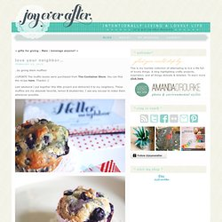 joy ever after :: details that make life loveable :: - Journal -