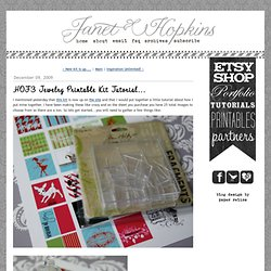 it's all in the details: HOF3 Jewelry Printable Kit Tutorial...