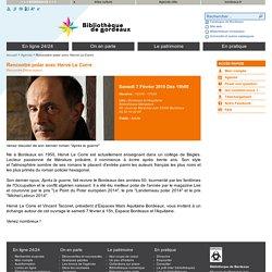 Details pour Rencontre polar avec Hervé Le Corre
