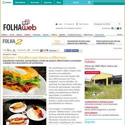 Sabores - Detalhes que fazem a diferença - Folha de Londrina - O Jornal do Paraná - Brasil