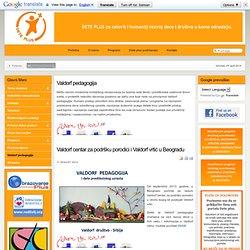 Dete Plus - Valdorf pedagogija